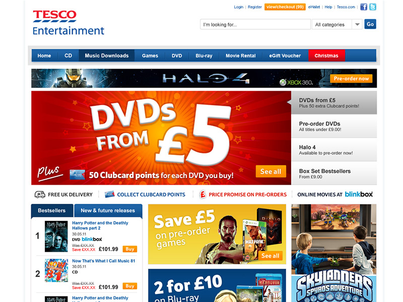 Tesco Entertainment