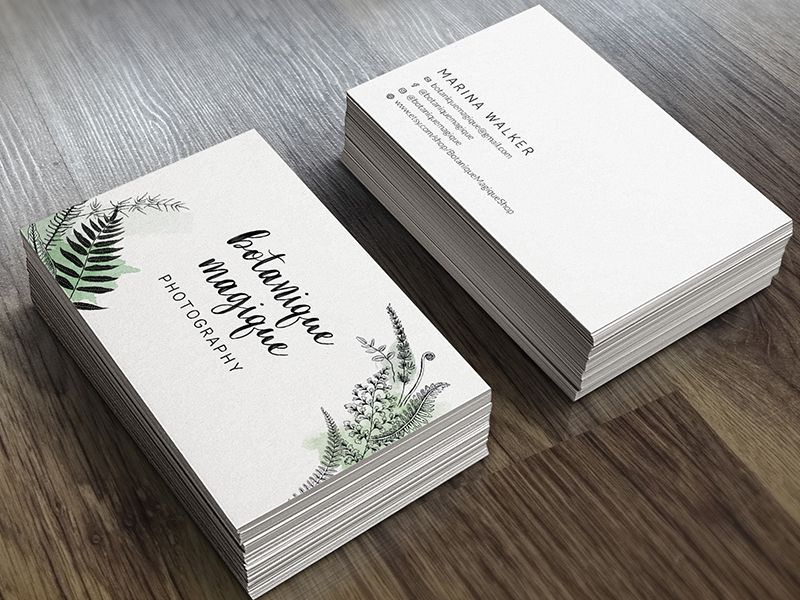 Botanique Magique Branding by Raingoose Design