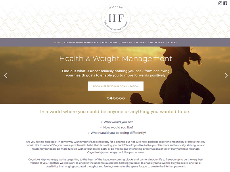 Helen Ford Cognitive Hypnotherapy
