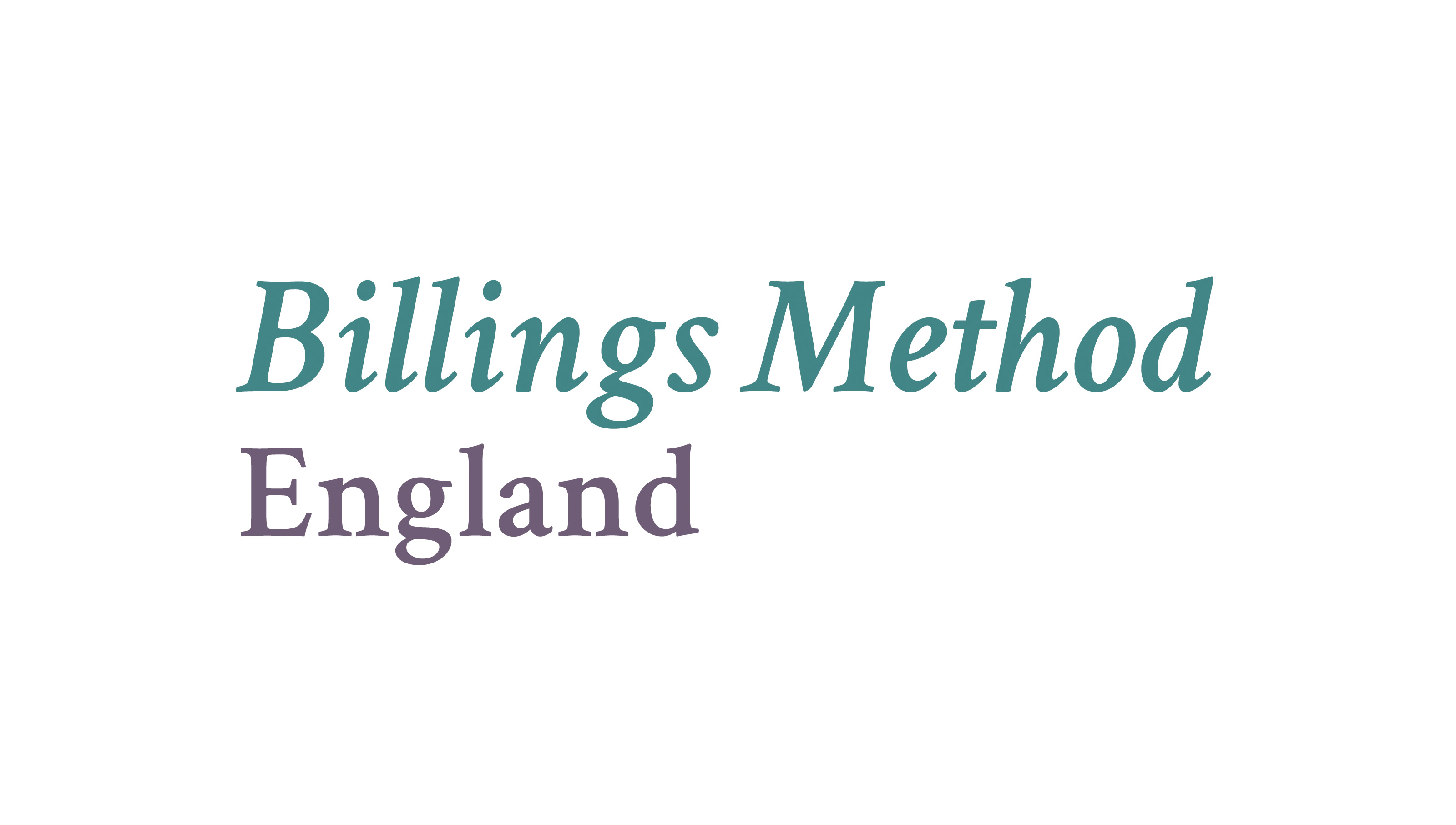 Billings Method England