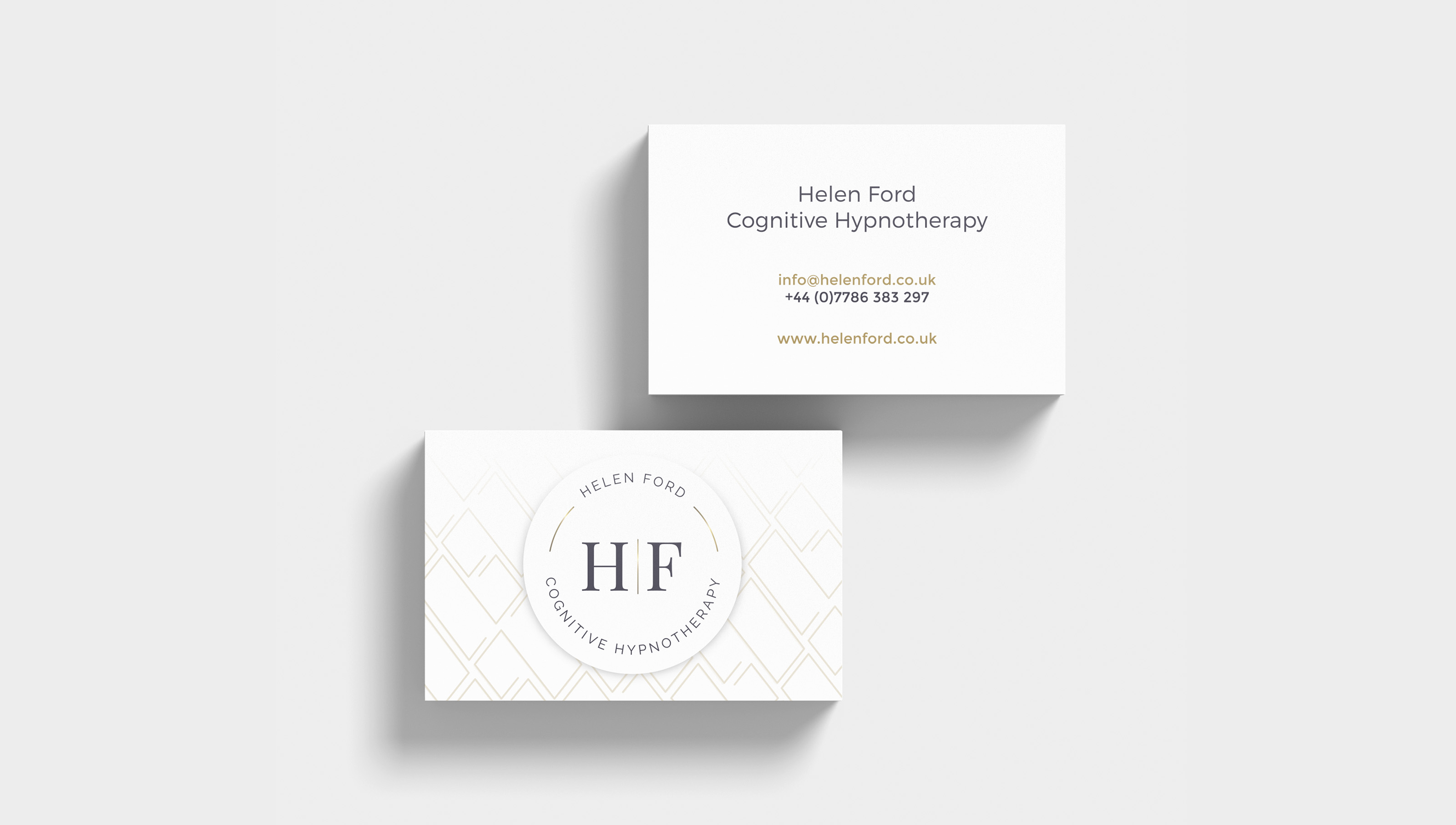 Cognitive Hypnotherapy Business Cards
