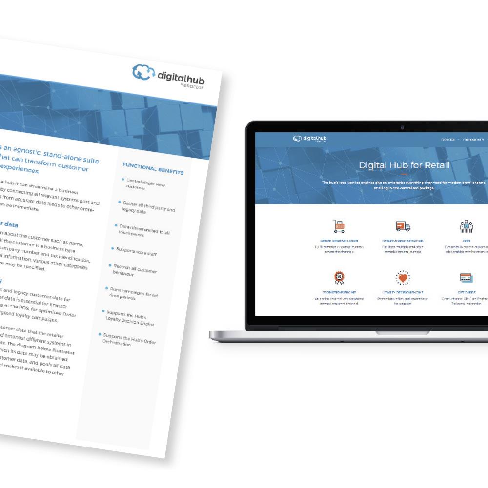 Digital Retail Hub